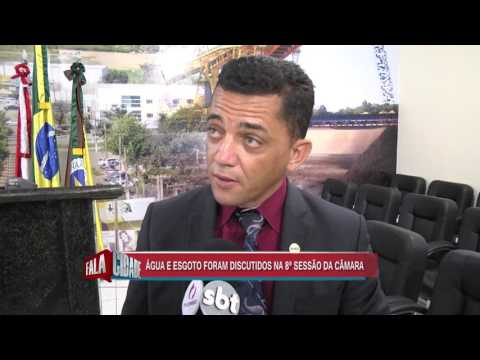 VEREADOR JÚNIOR GARRA DIZ QUE ÁGUA DE CANAÃ DOS CARAJÁS É CONTAMINADA