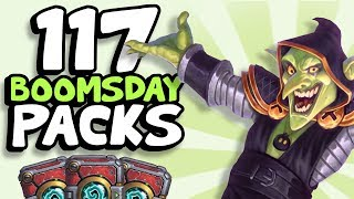 117 BOOMSDAY PACKS OPENED!! | The Boomsday Project | Hearthstone