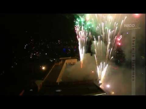 Näher. Und aus der Luft – Feuerwerk aus einem besonderen Blickwinkel.