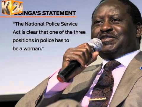 CORD, women's groups rally behind ousted former Deputy IG