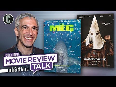 The Meg and BlacKkKlansman - Movie Review Talk with Scott Mantz