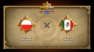 POL vs MEX, game 1