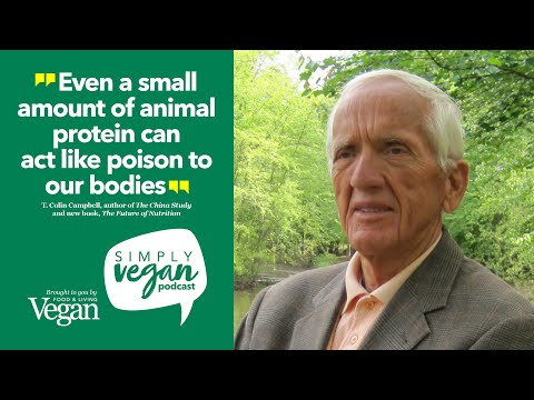 Simply Vegan Podcast: T. Colin Campbell (The China Study) talks diet, disease and Covid 19