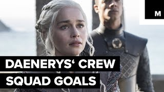 Daenerys Targaryen is destined for great things, but she wouldn't be where she is without her crew. We sat down with the 'Game ...