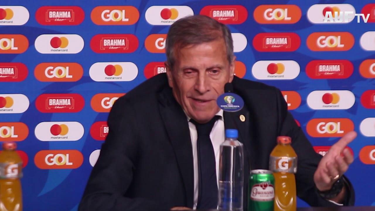 Conferencia de prensa - Uruguay 2 - 2 Japón (20/6/19)