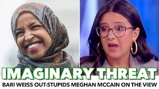 Bari Weiss Out-Stupids Meghan McCain On The View