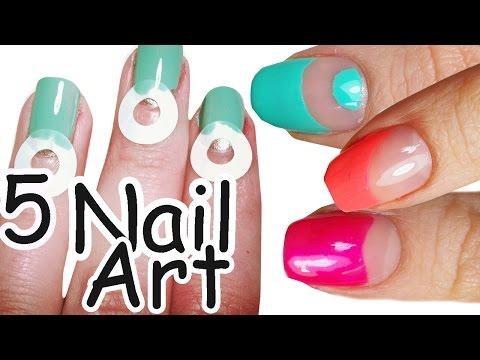 nail art utilizzando salvabuchi