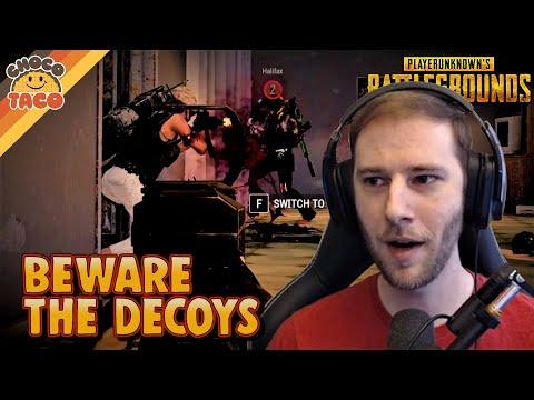 Beware the Decoys ft. Halifax - chocoTaco PUBG Duos Gameplay