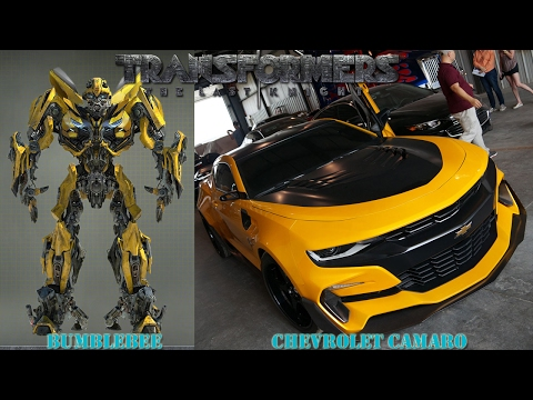 Transformers 5 Cars In Real Life