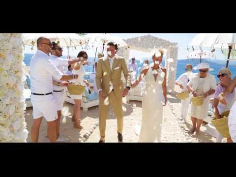 Ibiza beach club wedding