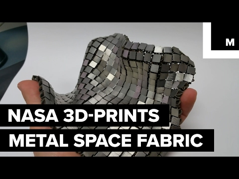 NASA研發出最猛的「3D列印鎖子甲」保護太空人,沒想到我們的科技已經那麼強了!