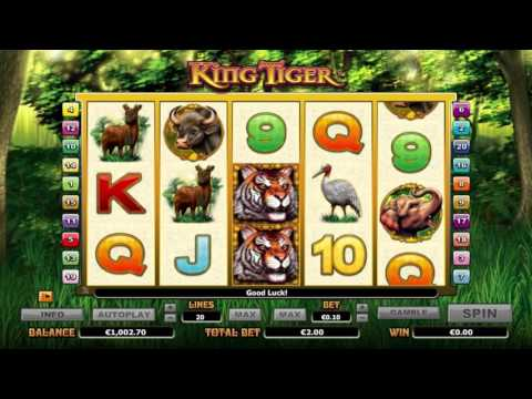 King Tiger™ free slots machine game preview by Slotozilla.com