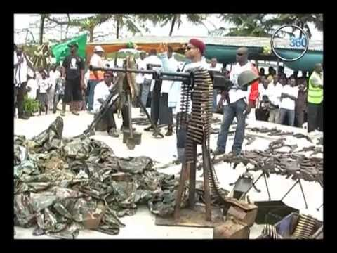 REMEMBERING THE 2009 AMNESTY FOR  NIGER DELTA MILITANTS