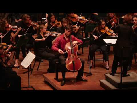 Finale Nationaal Cello Concours - Alexander Warenberg (1e prijs) - Sjostakovitjs celloconcert nr. 1