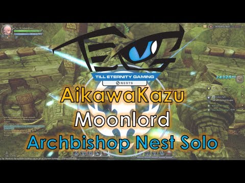 Dragon Nest SEA - Level 50 Moonlord Archbishop Nest Solo Feat
