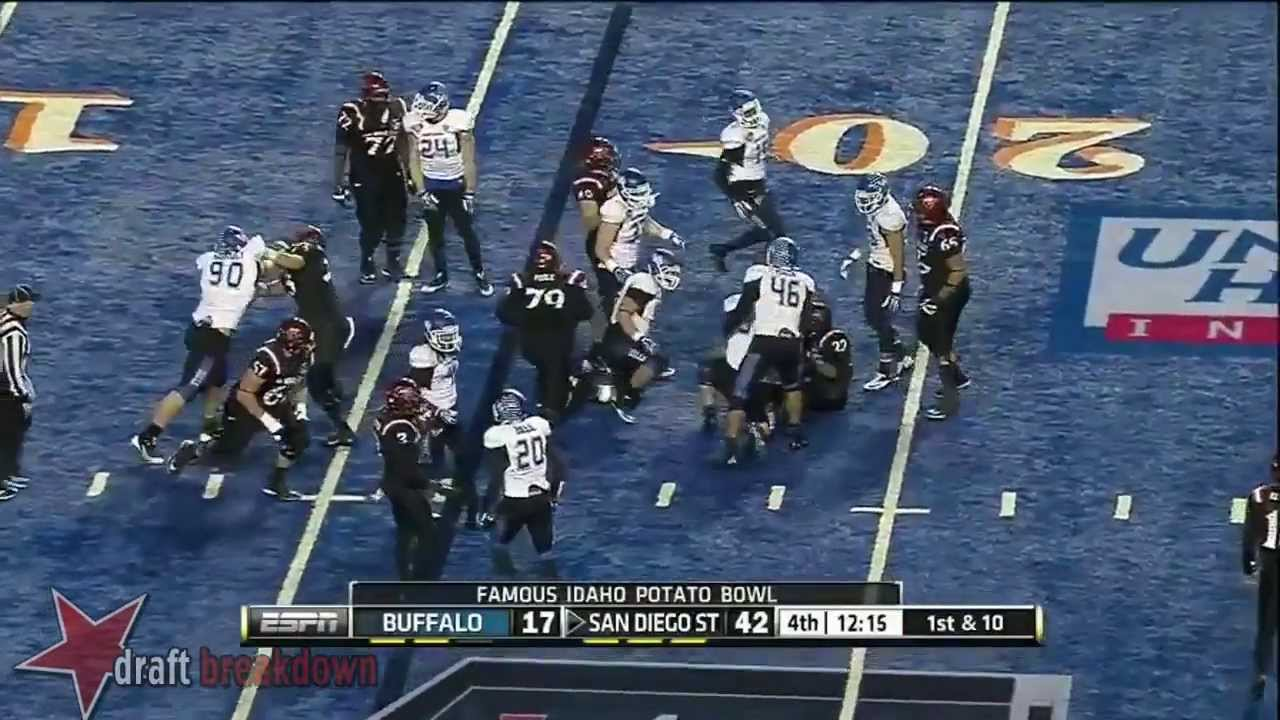 Khalil Mack vs San Diego State (2013)
