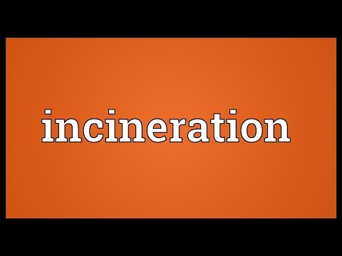 Incineration Meaning