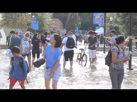 Crews Work to Clean Up Mess Caused by Water Main Break in LA