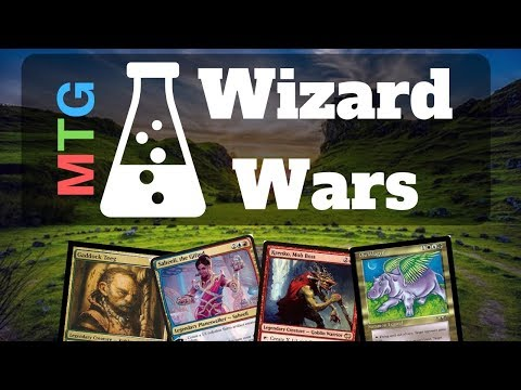Wizard Wars Pilot (EDH Commander Gameplay) January 26 2019