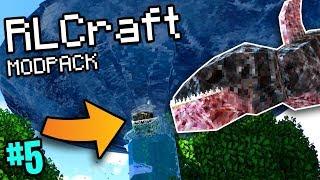 Sharknado In Minecraft (RLCraft Modpack #5)