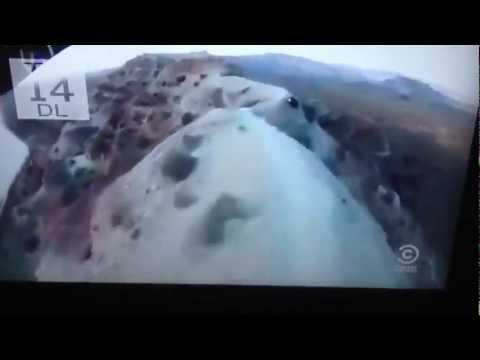 Insane Downhill Mountian Bike Crash (видео)