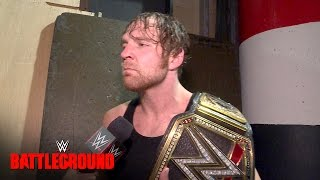 Nonton Dean Ambrose On Why His Match At Battleground Was His Toughest Yet  July 24  2016 Film Subtitle Indonesia Streaming Movie Download