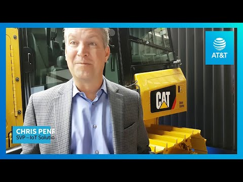 AT&T IoT Solutions & Caterpillar | 2018 Mobile World Congress