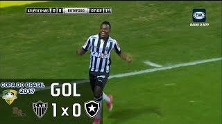 Gol - Atlético Mineiro 1 x 0 Botafogo - 1º Jogo Quartas Copa do Brasil 2017 - 29/06/2017Narração: Gustavo Villani, Comentários: EdmundoEstádio: Independência, Belo Horizonte-MG