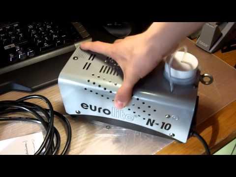 Test und Check: Eurolite N10 Nebelmaschine