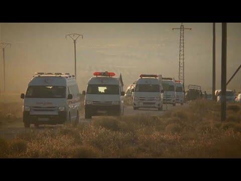 Αεροπλάνα της συμμαχίας εμπόδισαν τη διέλευση κομβόι του ΙΚΙΛ