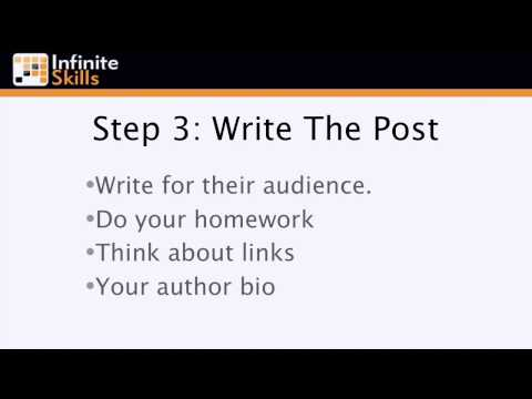 Search Engine Optimization Tutorial Series | Using Guest Posting For Links