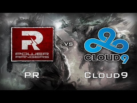 Power Rangers vs Cloud 9 Highlights | D2CL Season 2