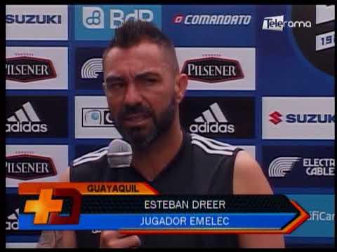 Emelec realizaría cambios para juego ante Deportivo Cuenca