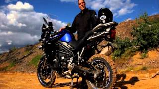 9. 2013 Triumph Tiger Explorer 1200 ABS and Traction control test!