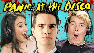 Video COLLEGE KIDS REACT TO PANIC! AT THE DISCO (Say Amen, This Is Gospel, Emperor's New Clothes) MP3, 3GP, MP4, WEBM, AVI, FLV Juli 2018
