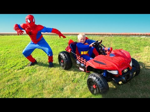 Spider-man VS Superman
