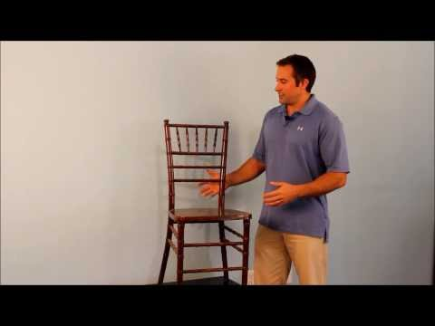 Wood, Resin, & Aluminum Chiavari Chair Discussion