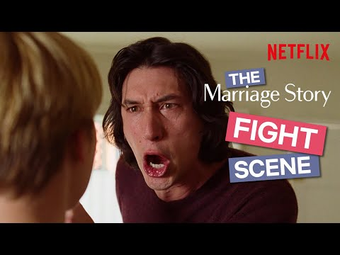 How Noah Baumbach Choreographed The Fight Scene In Marriage Story