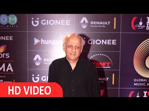 Mukesh Bhatt At Red Carpet Of GIMA Awards