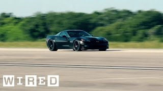 Video The Fastest Electric Car Ever Isn't a Tesla—It's a Converted Corvette | WIRED MP3, 3GP, MP4, WEBM, AVI, FLV Agustus 2018