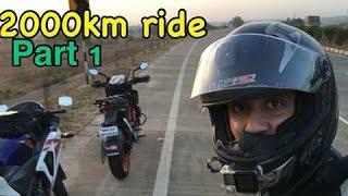 Video Mumbai To Bangalore To Mumbai | 2000km Ride in 28 hours | Part 1 MP3, 3GP, MP4, WEBM, AVI, FLV Oktober 2017