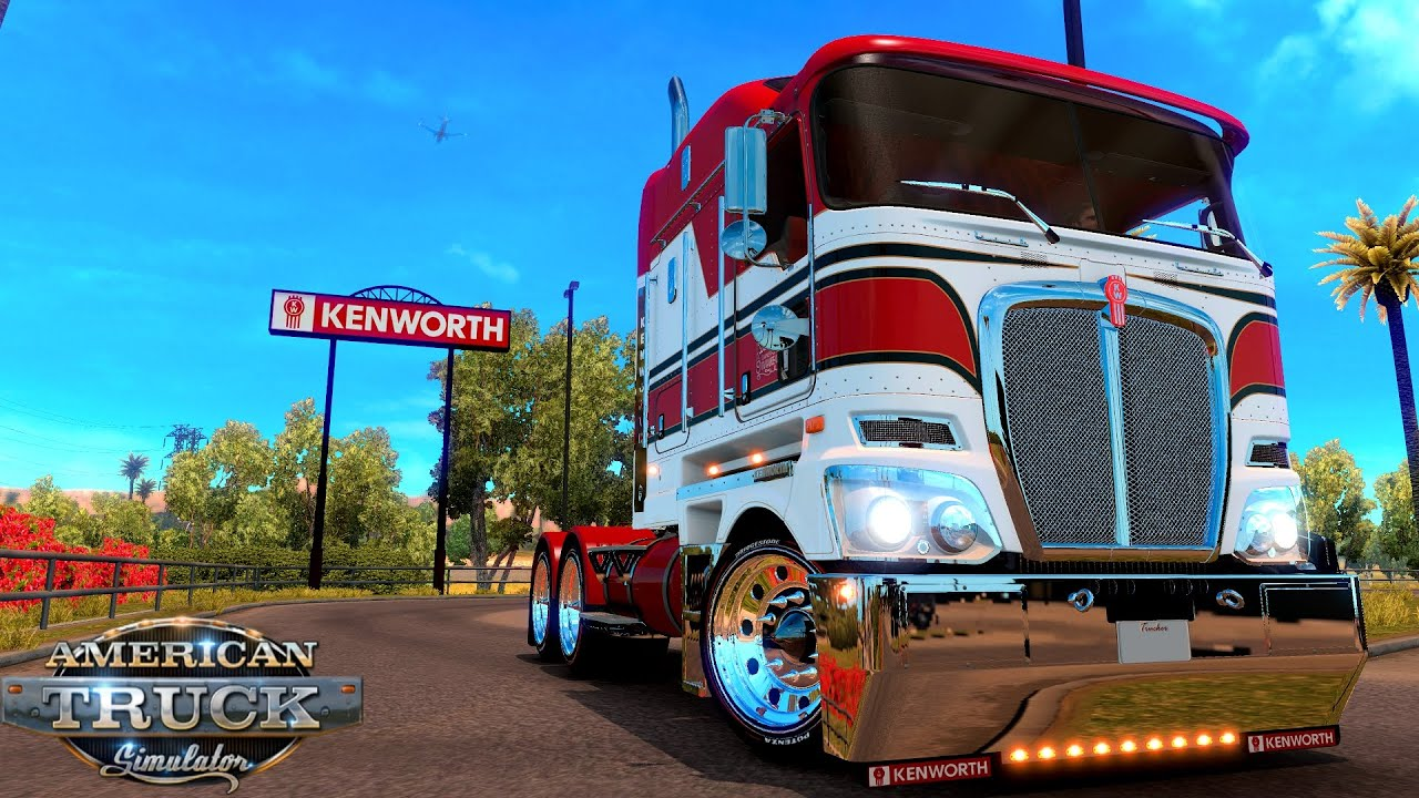 Update Kenworth K200 V 13 Mod For American Truck Simulator
