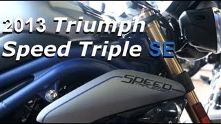 6. 2013 Triumph Speed Triple SE - Special Edition