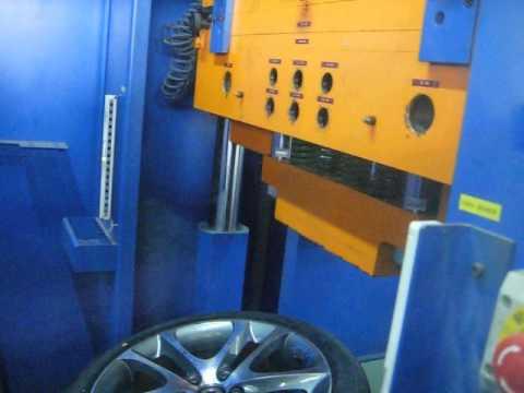 Проверка прочности диска WSP Italy W1255 NIGHT C30 на удар (Volvo)