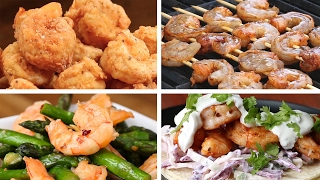 6 Simple Shrimp Dinners by Tasty