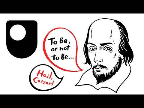 shakespeare - Free learning from The Open University http://www.open.ac.uk/openlearn/history-the-arts/culture/english-language --- An introduction by David and Ben Crystal...