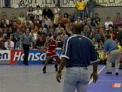 Hans Verkerk Den Helder - RZG Donar - finale playoffs - 26 april 1998