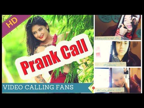 (PRANK CALLING BARSHA RAUT / VIDEO CALLING FANS ...7 min, 47 sec.)