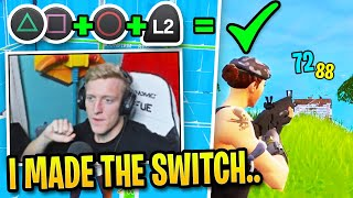 Tfue FINALLY Switches to Controller and Explains Why... (Tfue Buys Controller)