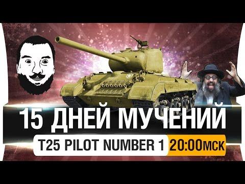 15 ДНЕЙ МУЧЕНИЙ? - T25 pilot / DeS, Romka, Stiks [20-00мск]